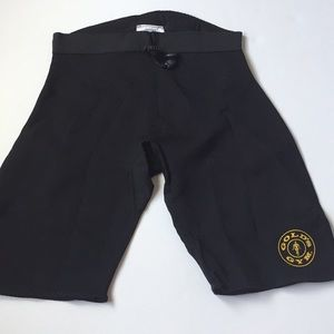 Gold's Gym Workout Exercise Neoprene Shorts S/M